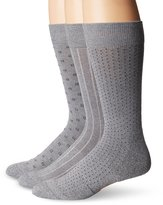 Dockers 3 Pack Cushion Dress - Ultimate Fit Square Dobby Crew Socks