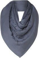 Calvin Klein All over logo jacquard square scarf