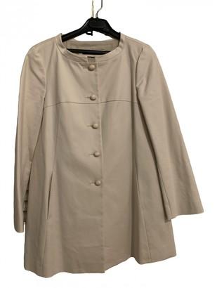 Tara Jarmon Ecru Cotton Coats
