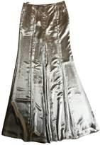 Celine Grey Viscose Trousers