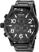 Nixon Men's A083-001 Stainless-Steel Analog Dial Watch