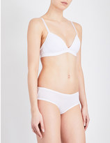 Bodas Basics stretch-cotton padded bra