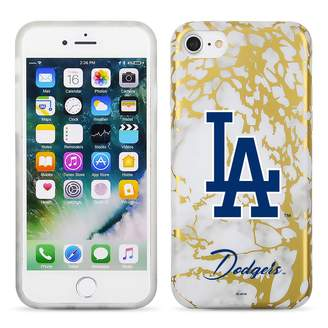 Unbranded Los Angeles Dodgers Marble iPhone 6/6s/7/8 Plus Case