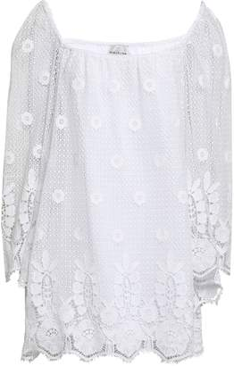 Miguelina Cotton Lace Coverup