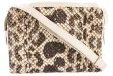 Carlos Falchi Snakeskin Crossbody Bag