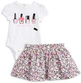 Kate Spade perfectly polished bodysuit & skirt set (Baby Girls)