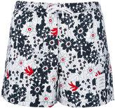 Thom Browne floral swim shorts - men - Nylon - 1