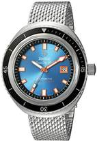 Zodiac Men's 'Super Seawolf 68 Extreme' Swiss Automatic Stainless Steel Casual Watch