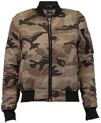 Brave Soul Ladie's Jacket OSLOCAMO Camouflage UK 12