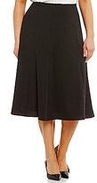 Calvin Klein Plus Flare Midi Skirt