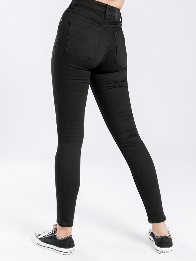 Thumbnail for your product : Nudie Jeans Hightop Tilde Skinny Jeans in Ever Black