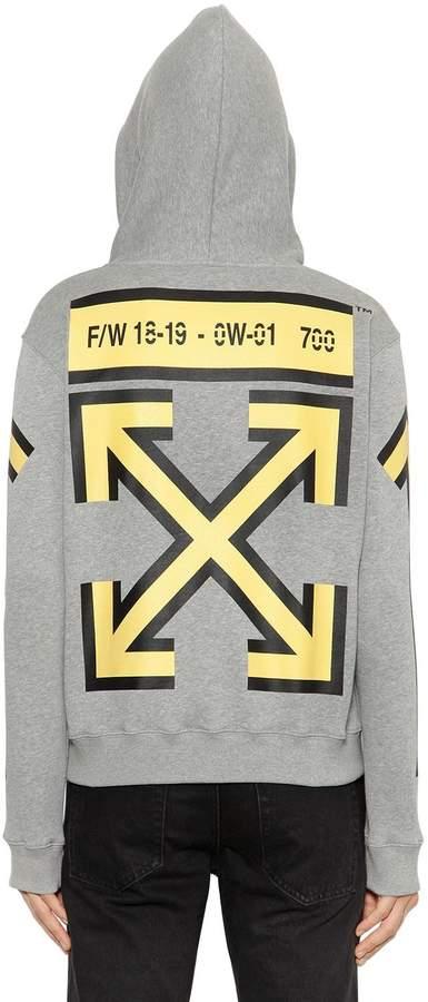 Off-White Oversized Arrows Print Sweatshirt Hoodie