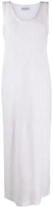 Brunello Cucinelli Tie-Waist Sleeveless Knitted Dress