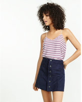 Express red white and blue striped barcelona cami