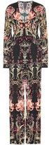 Roberto Cavalli Floral Printed Jumpsuit