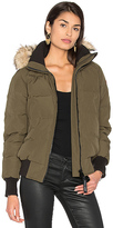 Canada Goose Savona Bomber in Army. - size L (also in M,S,XS)