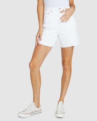 Insight Women's Shorts - Vinnie Vintage Denim Shorts - Size One Size, 28 at The Iconic
