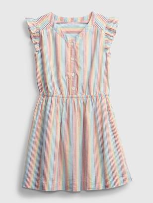 Gap Kids Rainbow Stripe Dress