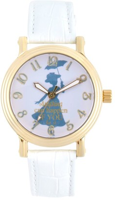 Disney Mary Poppins Watch for Women White