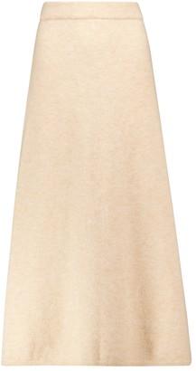 Nanushka Razi knit midi skirt