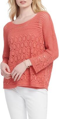 Nic+Zoe Row Boat Sweater