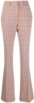 Etro High-Rise Flared Trousers