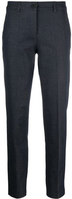 Emporio Armani Tapered Crop Trousers