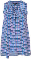 Derek Lam striped sleeveless blouse