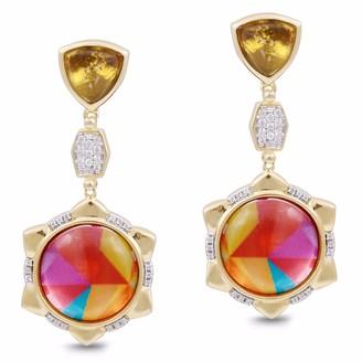 Lmj Girl On Fire Earrings