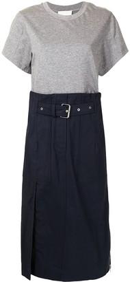 3.1 Phillip Lim combo T-shirt dress