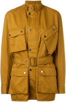Maison Margiela multi-pocket field jacket - women - Cotton/Linen/Flax/Polyamide - 40