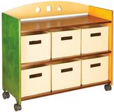 Guidecraft See & Store Rolling Storage Center