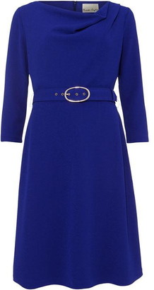 Phase Eight Annette Cowl Neck Swing Dress