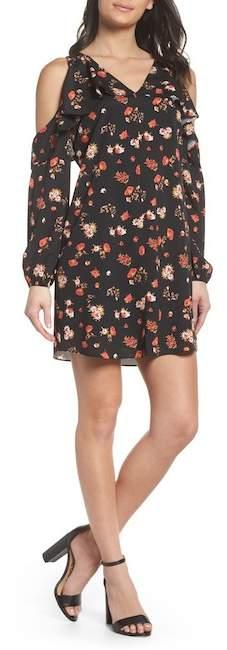 Nordstrom Kobi Halperin Tamar Cold Shoulder Shift Dress Exclusive)