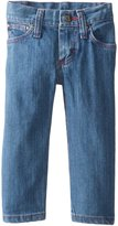 Wrangler Baby Girls' Five Pocket Styling with Embroidery and Patch Jean