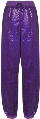 Ashish Sequin-Embellished Track Pants