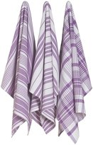 Now Designs Jumbo Pure Kitchen Towel (Set of 3)-Prince Purple