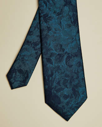 Ted Baker HABITS Floral silk tie