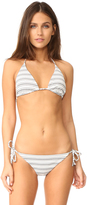 Shoshanna Clean Triangle Bikini Top