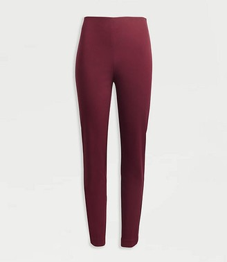 LOFT Tall Curvy High Waist Side Zip Skinny Leggings