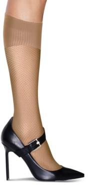 Hanes Women's Perfect Socks Diamond Compression Knee Socks