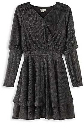 Habitual Girl's Smocked Waist Dress