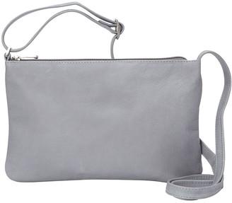 Le Donne Leather Apricot Crossbody Bag
