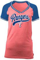 5th & Ocean Women's Texas Rangers Rhinestone Night T-Shirt