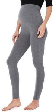 Cuddl Duds Softwear With Stretch High-Waisted Maternity Layering Leggings
