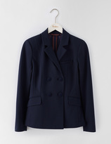 Boden Double Breasted Ponte Blazer