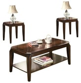 ACME Furniture 3 Piece Docila Pack Coffee End Table Set Walnut - ACME