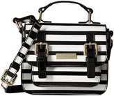 Kate Spade Scout Bag (Toddler/Kid) - Black Cream Stripe - One Size