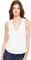 LnA Triple Cross Tank Top Women's Sleeveless