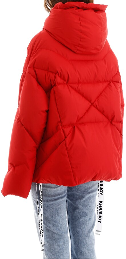 Thumbnail for your product : KHRISJOY KHRIS PUFFER JACKET 1 Red Technical